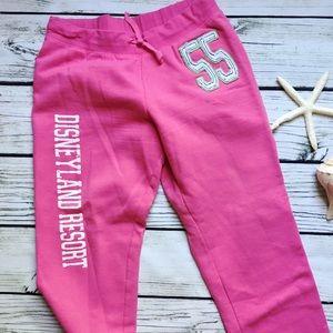 Disney Resort • Disneyland Pink Lounge Pants M